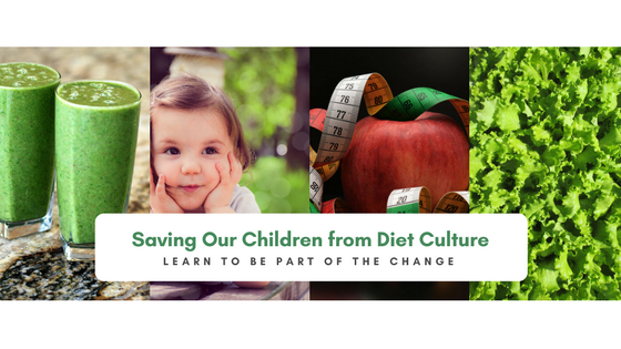 How do we save our children from diet culture
